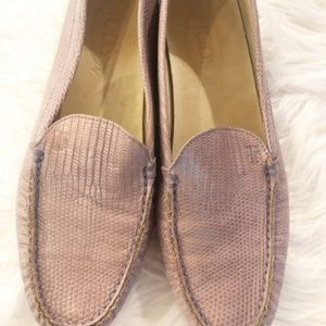 Women's Size 9 Tod's Gommino Driving Shoes loafers